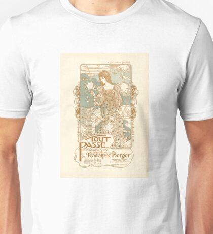 Art Nouveau Sheet Music Cover Unisex T-Shirt