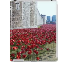 Sea of poppies -Tower of London iPad Case/Skin