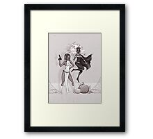 Mystique and Storm Framed Print