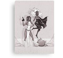 Mystique and Storm Canvas Print