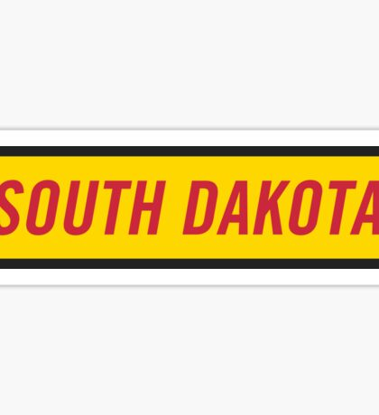 South Dakota Y Sticker