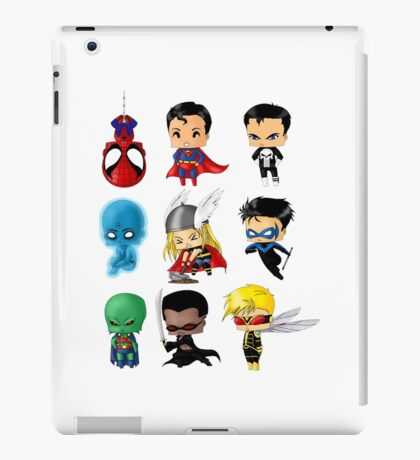 super hero 1 iPad Case/Skin