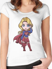supergirl Women's Fitted Scoop T-Shirt