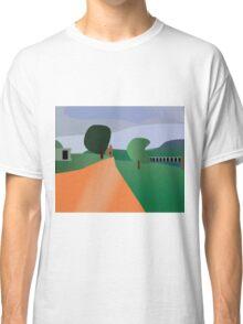 Larravide Scenery Green Classic T-Shirt