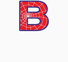B letter in Spider-Man style Unisex T-Shirt