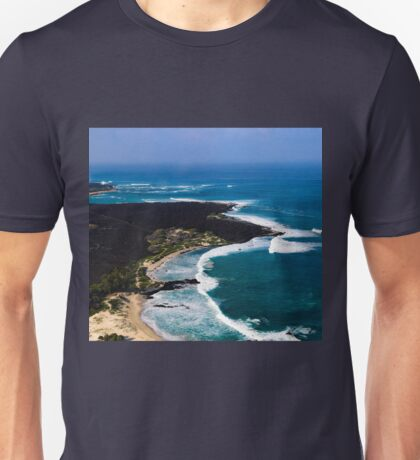 Birds Eye View Kona Hawaii Unisex T-Shirt