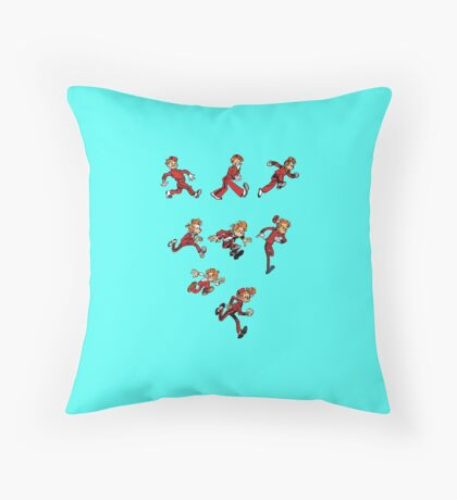 spirou Throw Pillow
