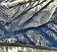 Southern spurs, Mount Bogong by Kevin McGennan
