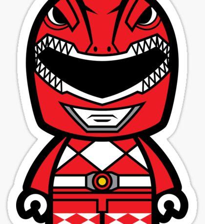 Red Ranger Chibi Sticker