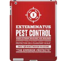 Exterminatus - Inquisition - Warhammer iPad Case/Skin