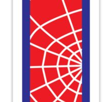 I letter in Spider-Man style Sticker