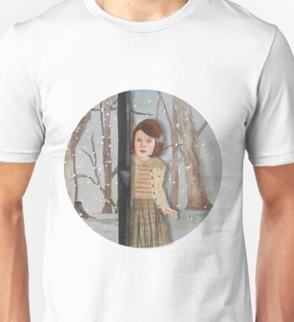 Lucy and the Lantern (Narnia) Unisex T-Shirt