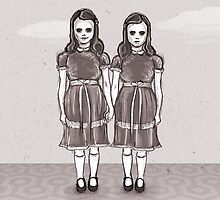 The Shining by Sam Pea