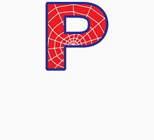P letter in Spider-Man style Unisex T-Shirt