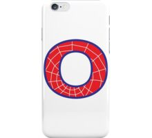 O letter in Spider-Man style iPhone Case/Skin