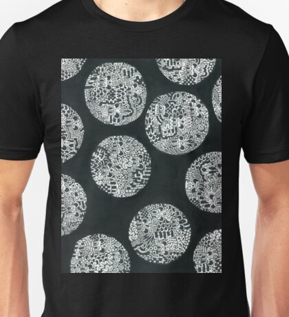 The Abstract Untitled Drawings #4 Unisex T-Shirt