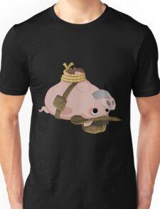 Glitch Inhabitants hogtied piggy explorer Unisex T-Shirt