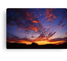 Sunset over Ormiston Pound Canvas Print