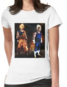 The Super Saiyans  Womens Fitted T-Shirt