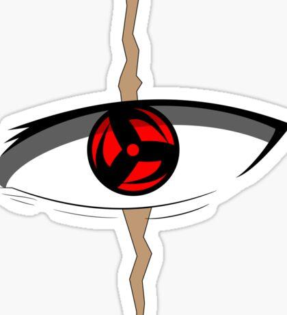 Kakashi Mangekyo Sharingan Eye Sticker
