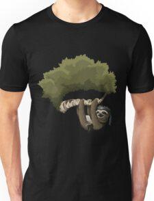 Glitch Inhabitants Metal Sloth In Tree Unisex T-Shirt