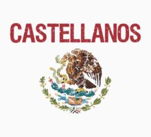 Castellanos Surname Mexican Kids Clothes