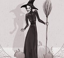 Wicked Witch of the West by Sam Pea