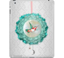 Hummingbird, Moon and Star iPad Case/Skin