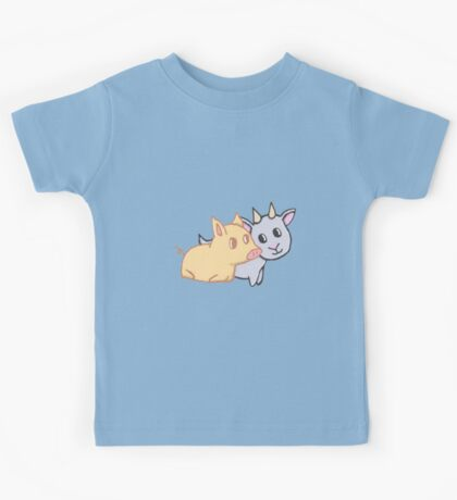 Piggy and Goat Kids Tee