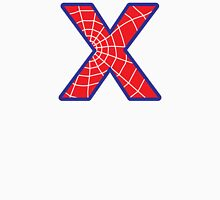 X letter in Spider-Man style Unisex T-Shirt
