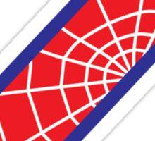 Z letter in Spider-Man style Sticker