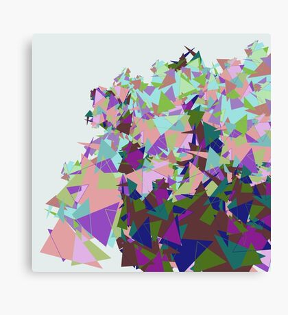 Triangle Mashup Canvas Print