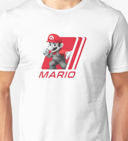 Simple Smash. Mario Unisex T-Shirt