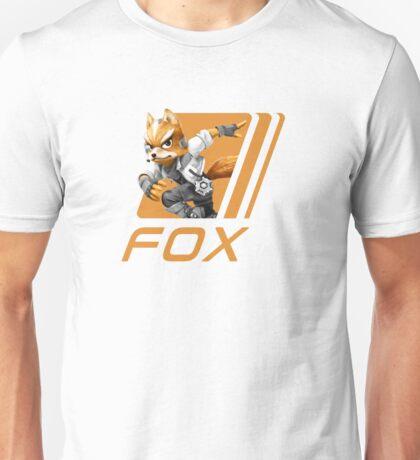 Simple Smash. Fox Unisex T-Shirt