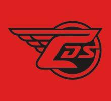 CDS Logo Red Long Sleeve T-Shirt by CarducciDulSprt