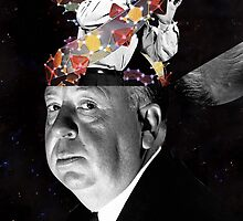 Alfred Hitchcook  by sedkialimam