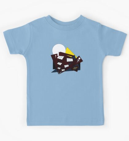 Abstract Building Kids Tee