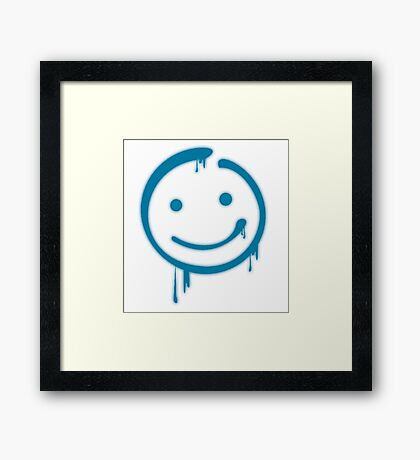 Moriarty Smiley Framed Print
