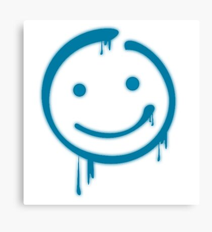 Moriarty Smiley Canvas Print