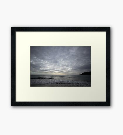 Pentewan South Cornwall Framed Print