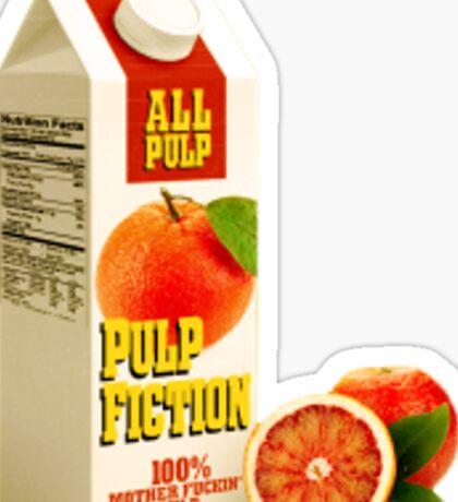 Pulp juice Sticker