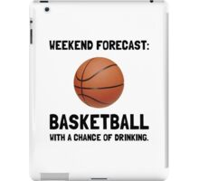 Weekend Forecast Basketball iPad Case/Skin