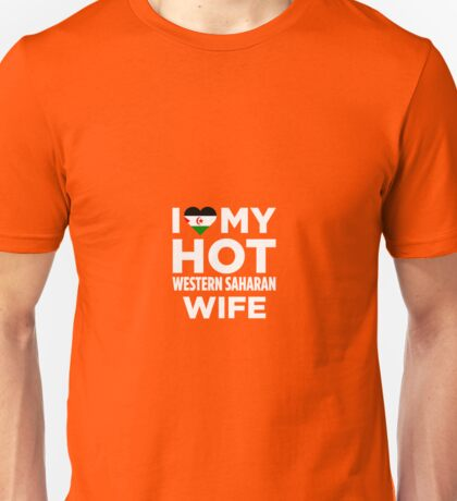 I Love My Western Saharan Wife Unisex T-Shirt