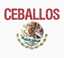 Ceballos Surname Mexican Kids Clothes