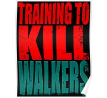 Training to KILL WALKERS Poster