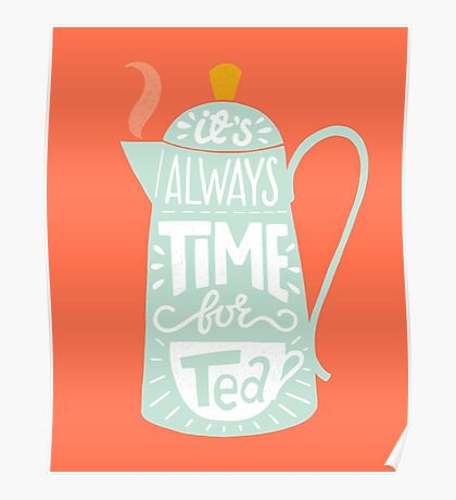Tea saying Poster