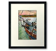 Summer Sail Framed Print