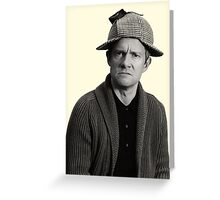 John - Deerstalker Greeting Card