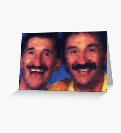 Chuckle Brothers Greeting Card