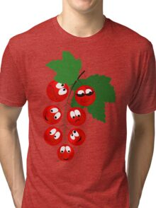 Cool funny vegetable and Fruits Tri-blend T-Shirt